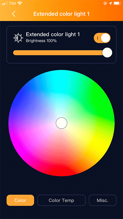 AduroSmart ERIA Flexible Extended Colors LED Strip - Uso - 2
