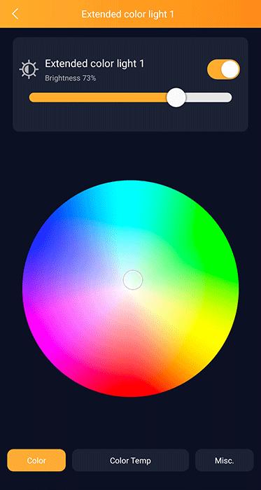 AduroSmart ERIA - Lampadina colorata - dettagli