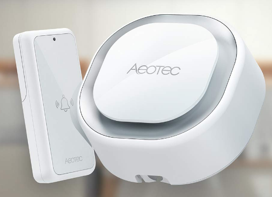 Aeotec Indoor Siren - Button