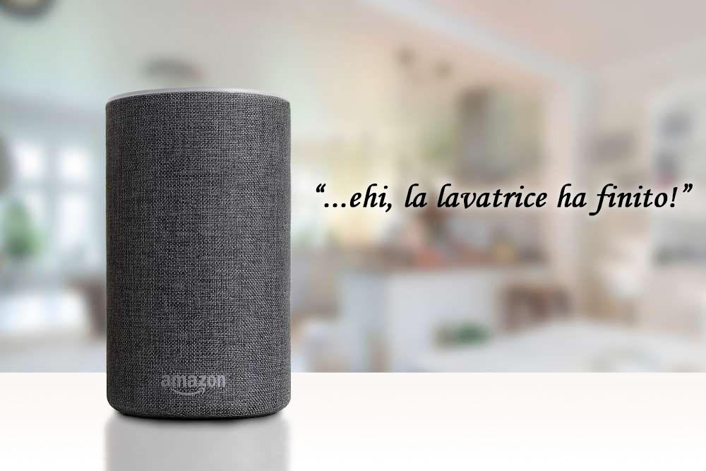 Amazon Alexa parla