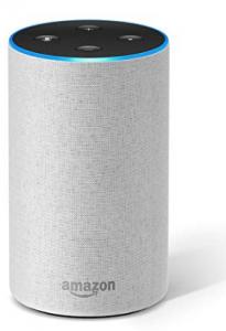 Amazon Echo - Colore grigio chiaro