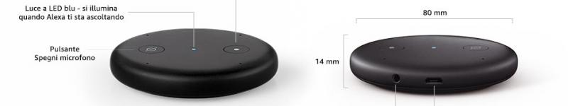 Recensione: Amazon Echo Input