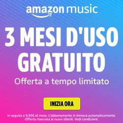 Amazon Music - 3 mesi gratuiti
