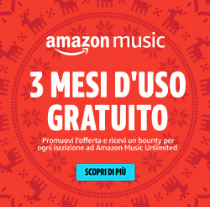 Amazon Music 3 mesi gratuito