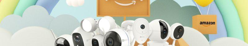 [Amazon Prime Day] SPECIALE EZVIZ: fino al 50% di sconto su tutte le IP Cam del catalogo!
