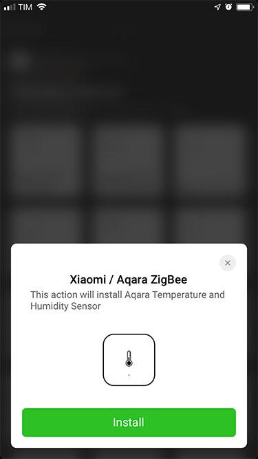 App Homey – Xiaomi – Aggiunta dispositivo - 3