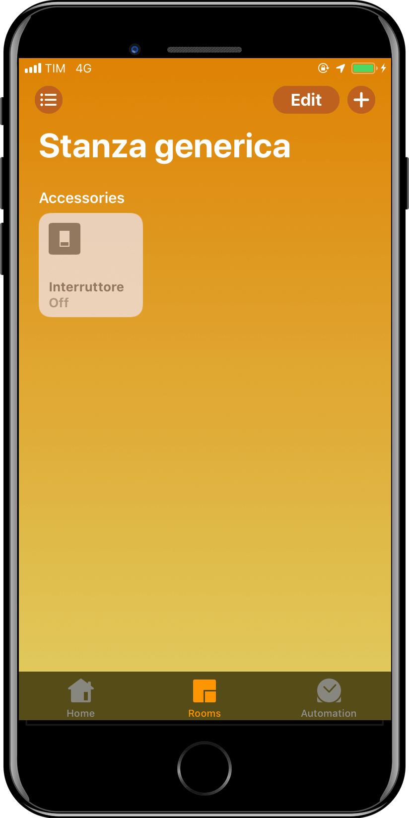 Apple HomeKit Casa - Interruttore