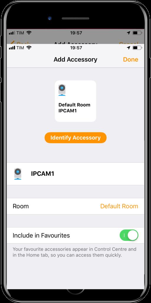 Apple HomeKit aggiunta camera-3