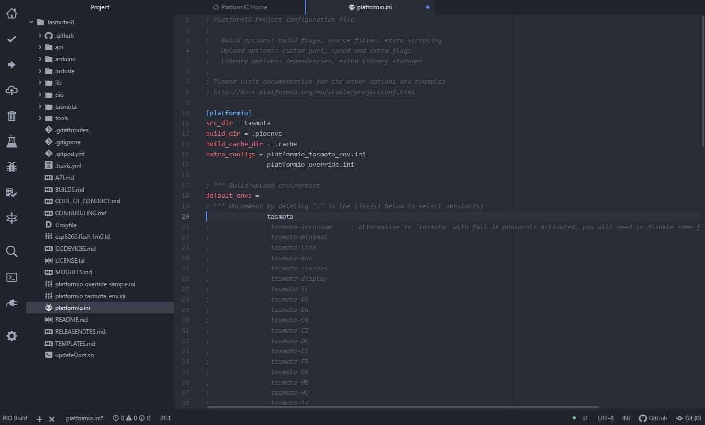 Atom - platform.io