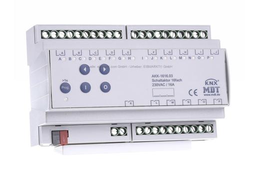 Attuatore KNX MDT 16 canali 16 A