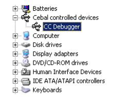 CC Debugger Windows driver