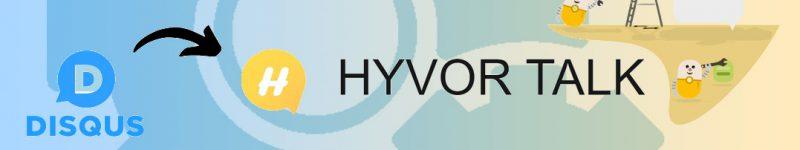 Addio Disqus, benvenuto Hyvor Talk