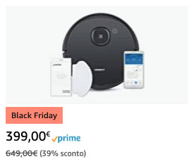 ECOVACS DEEBOT OZMO 950 - Black Friday