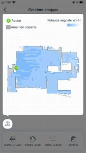ECOVACS HOME - Copertura Wi-Fi