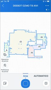 ECOVACS HOME - Mapping OZMO T8