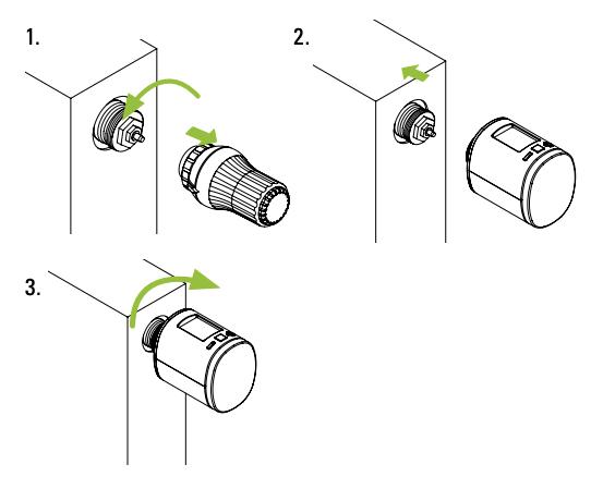 EUROTRONIC Spirit Z-Wave Plug - montaggio