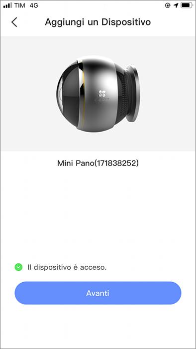 EZVIZ C6P Mini Pano 360 - Installazione - 1