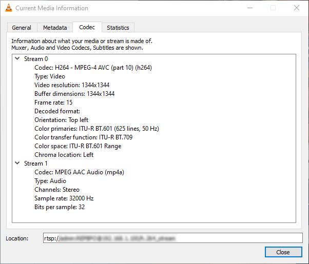 EZVIZ C6P - Network streaming