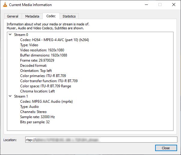 EZVIZ C6TC - Network streaming