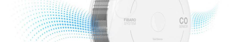 FIBARO CO Sensor – sensore di monossido di carbonio (versione Apple HomeKit)