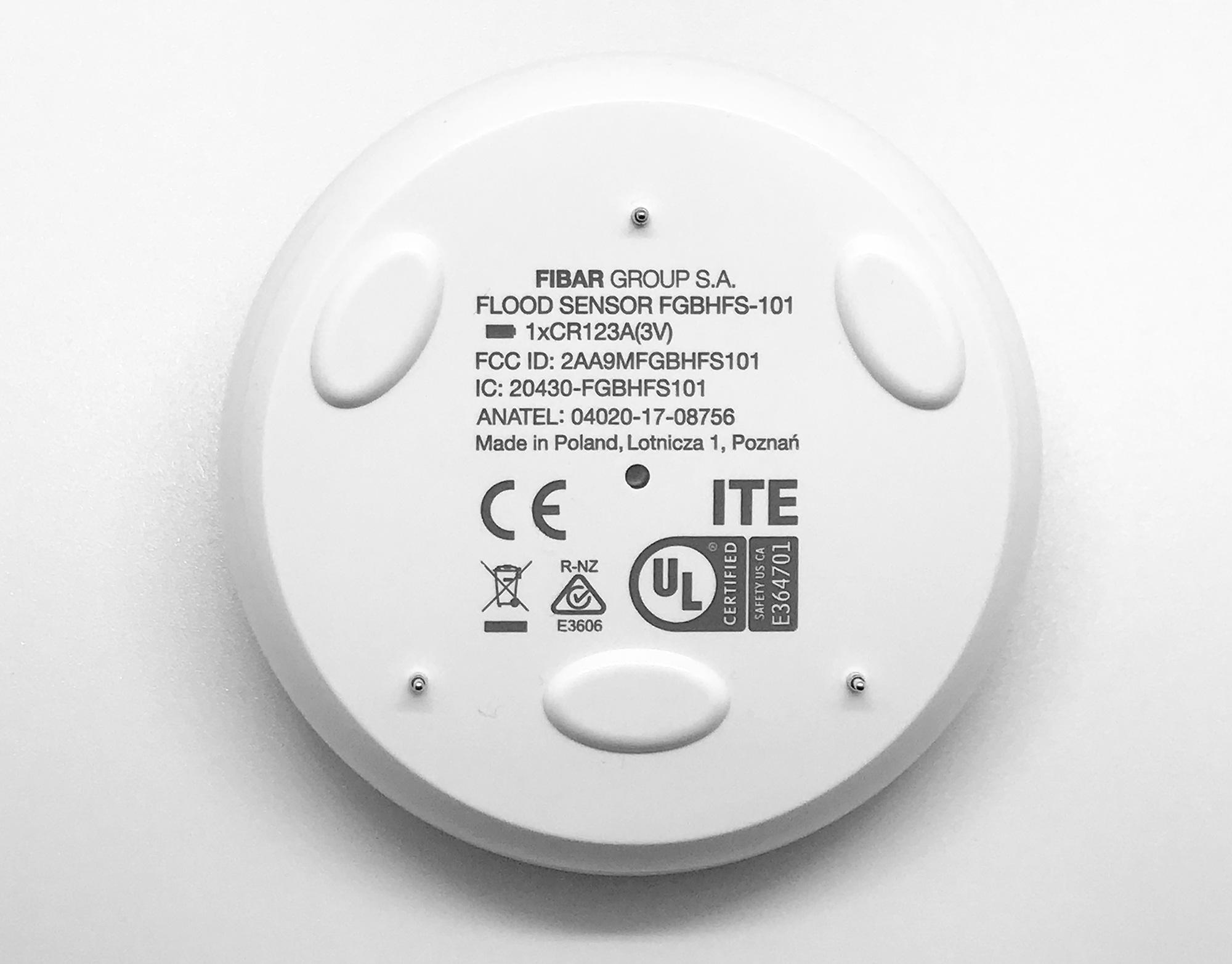 FIBARO Flood Sensor HomeKit - Back