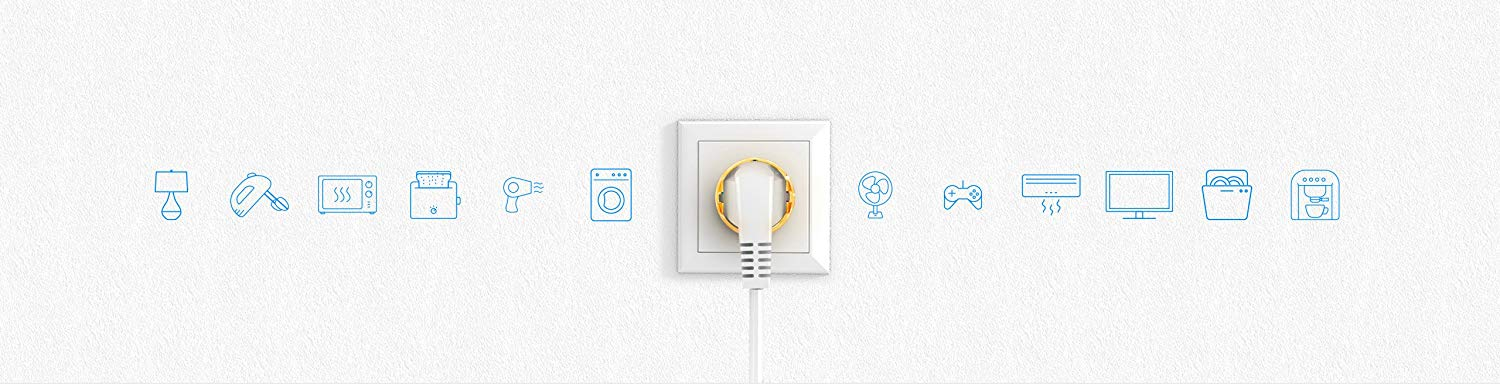 FIBARO Wall Plug - strip