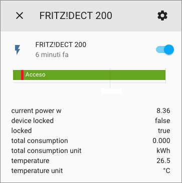 FRITZ!Box - Home Assistant - Integrazione DECT - FRITZ!DECT 200