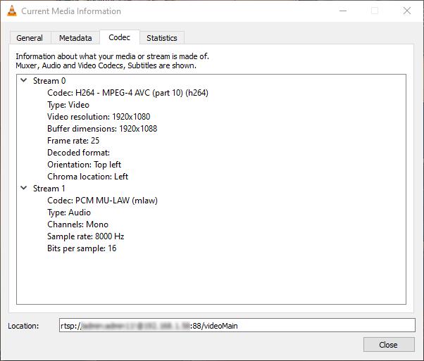 Foscam C2M - Network streaming - 1