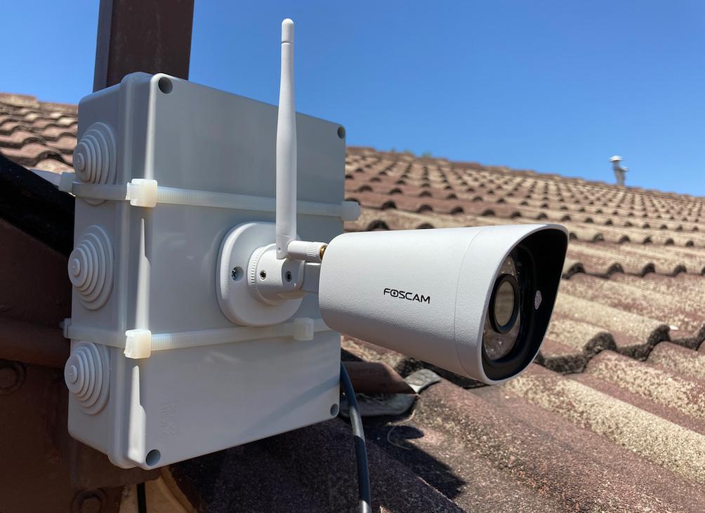 Foscam FI9902P - Installata esternamente