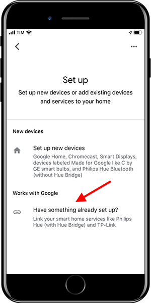 Google Home - Add device - 3