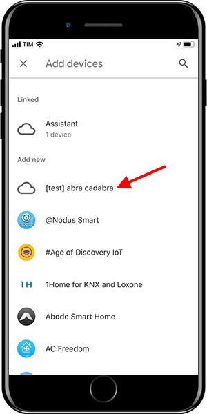 Google Home - Add device 4