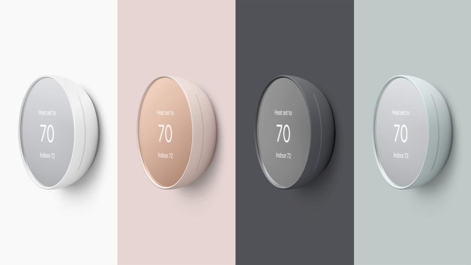Google Nest Thermostat - Colori
