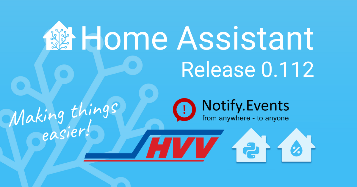 Home Assistant 0.112
