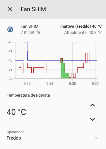 Home Assistant - Climate Fan SHIM - Dettagli