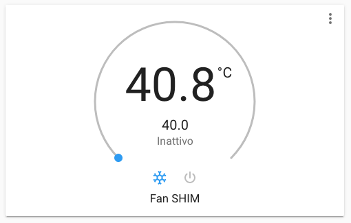 Home Assistant - Climate Fan SHIM