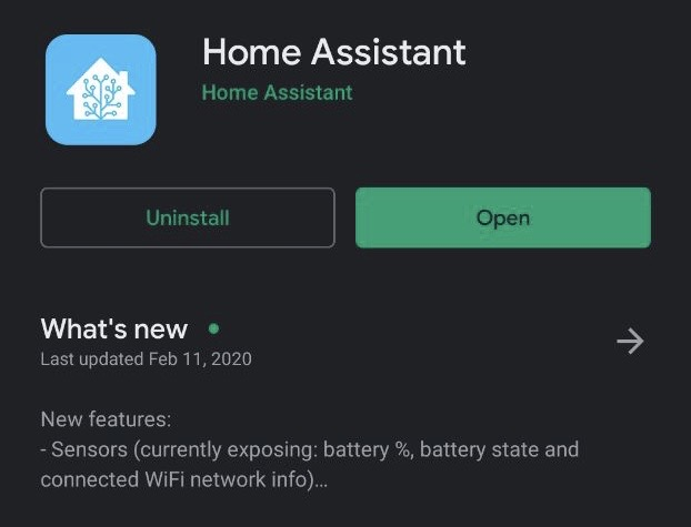 Home Assistant Companion 1.7.0 per Android
