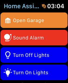 Home Assistant Companion - Apple Watch