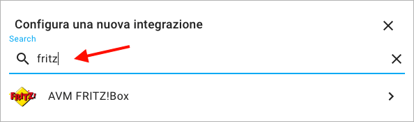 Home Assistant - FRITZ!Box - Integrazione - 1
