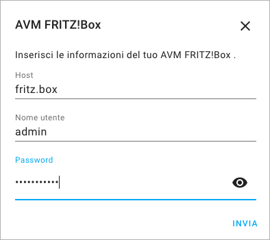 Home Assistant - FRITZ!Box - Integrazione - 2