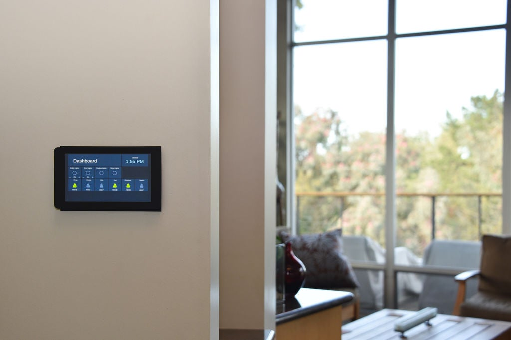 Home Assistant - Tablet a muro
