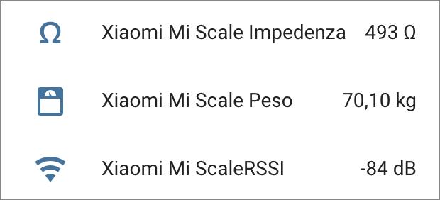 Home Assistant - Xiaomi Body Composition Scale 2 via ESPHome