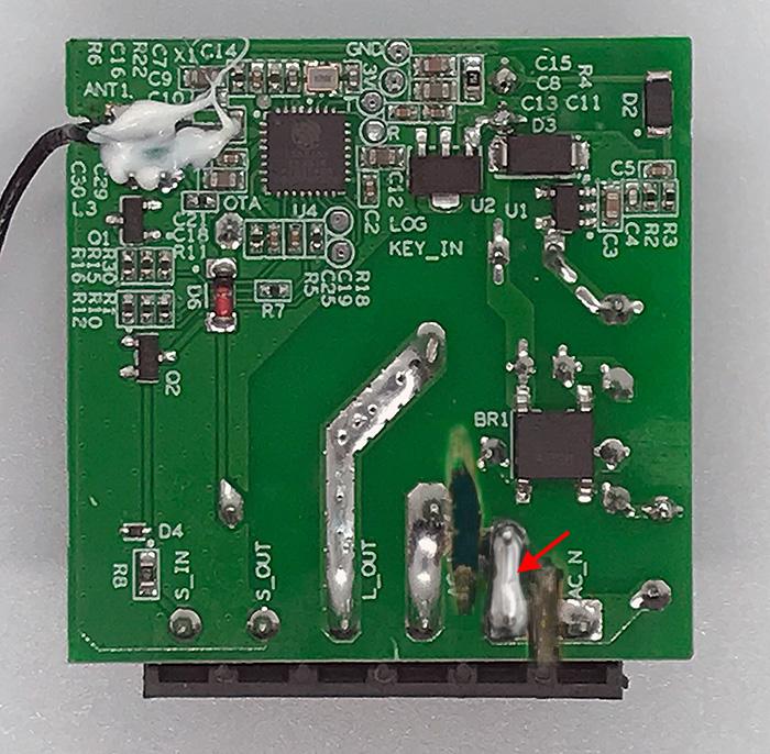 ITEAD Sonoff Mini - Contatto Pulito Dry Contact - saldatura