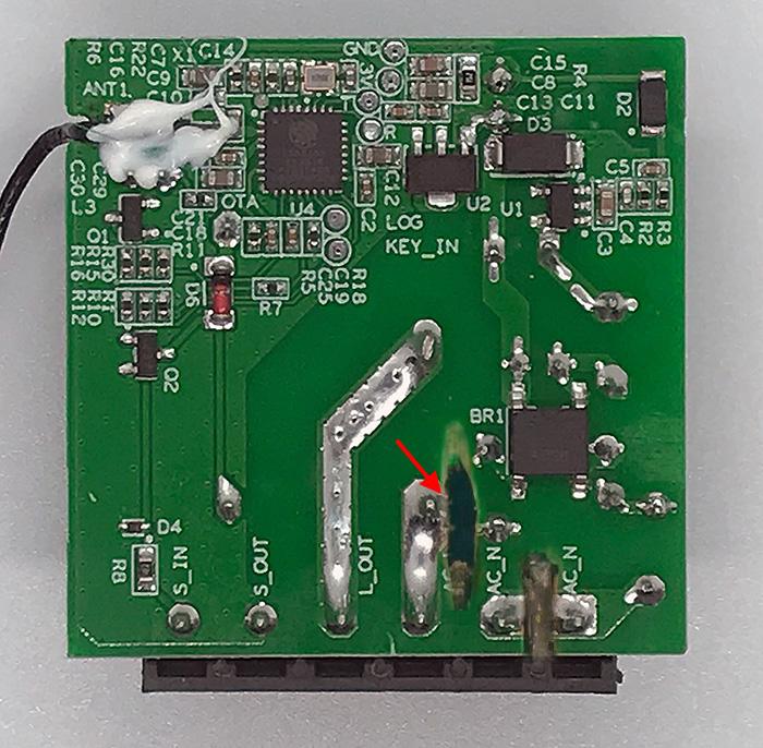 ITEAD Sonoff Mini - Contatto Pulito Dry Contact - secondo taglio