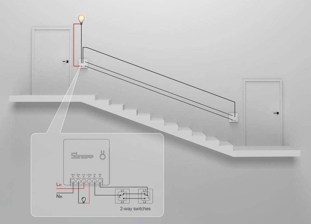 ITEAD Sonoff Mini - Deviatore