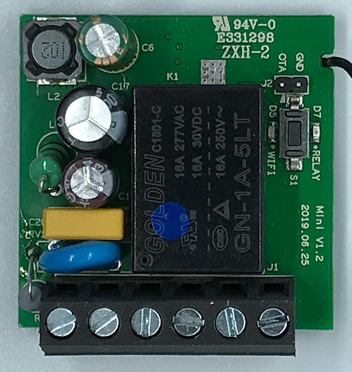 ITEAD Sonoff Mini - Interno anteriore