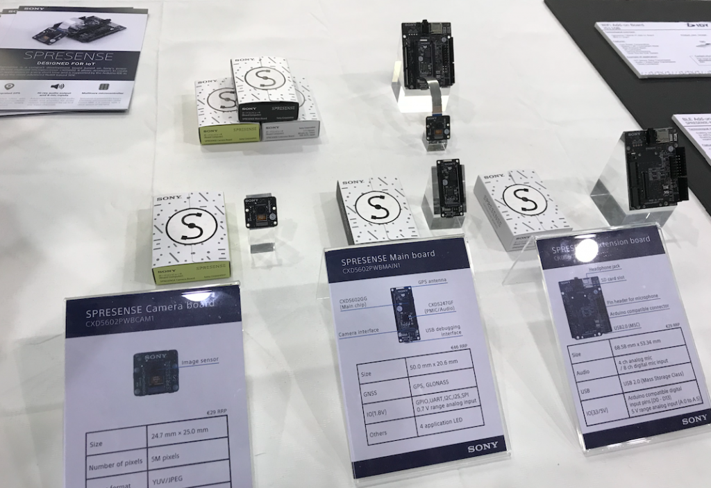 Maker Faire 2018 - Spresence Sony
