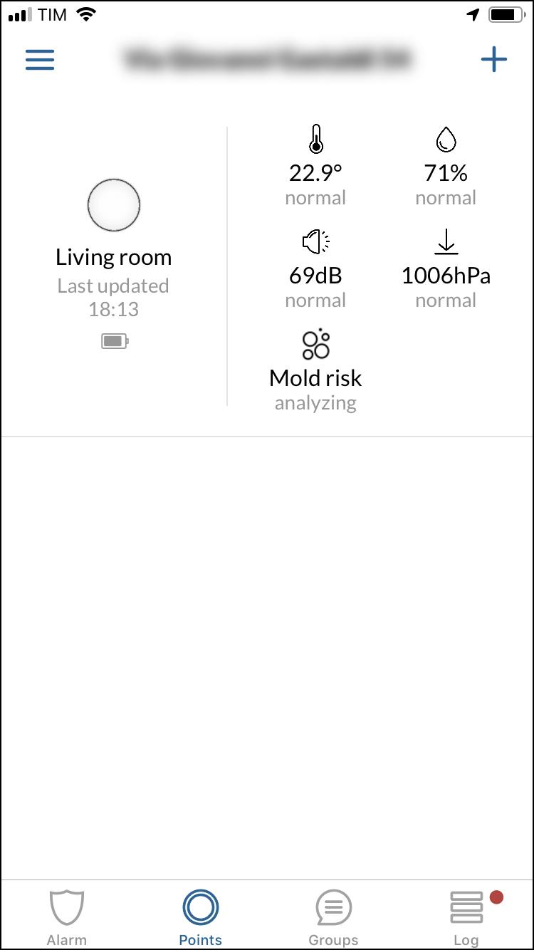Minut Point - Sensori - Dettagli