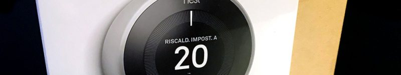 Google Nest Learning Thermostat (termostato intelligente) v3