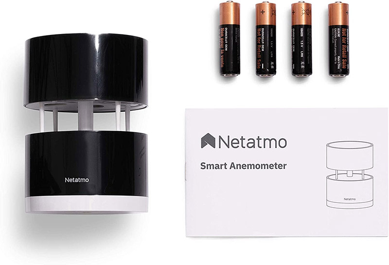 Netatmo Anemometro Wireless - Contenuto package