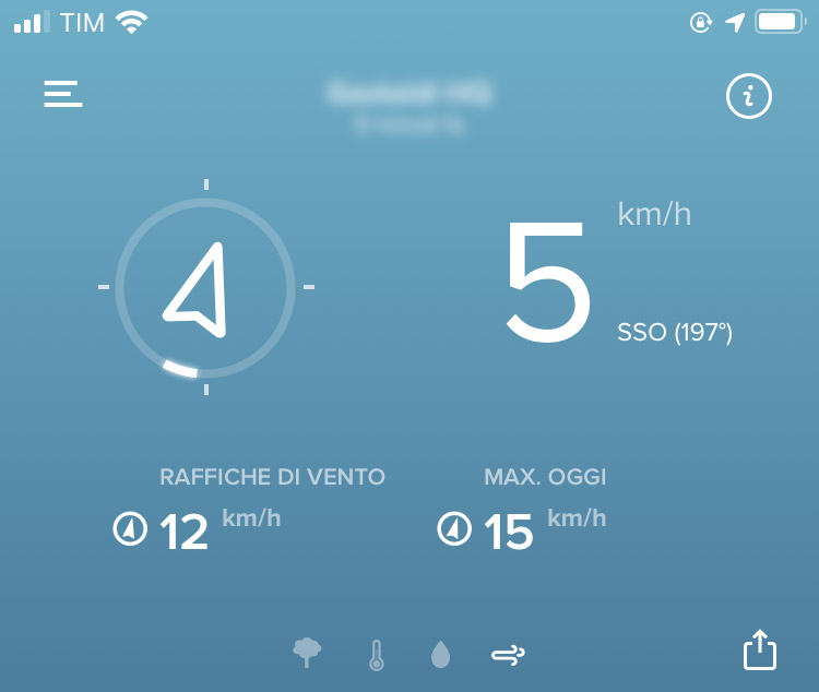 Netatmo Anemometro Wireless - Lettura